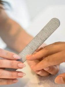 Hygiëne - Een nagelvijl wordt alleen bij een klant gebruikt.
