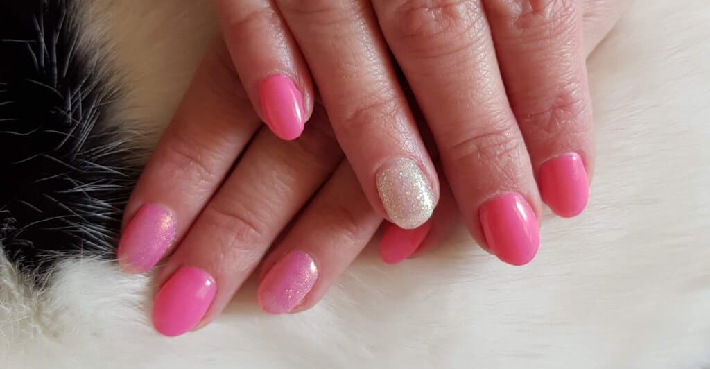Gellak, manicure